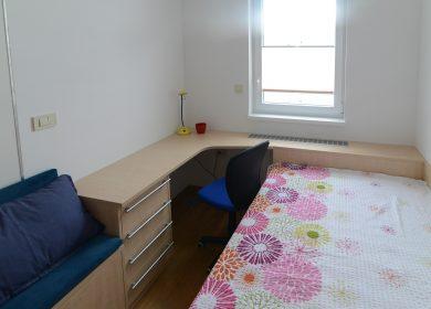 Ureditev stanovanja - spalnica za gospoda